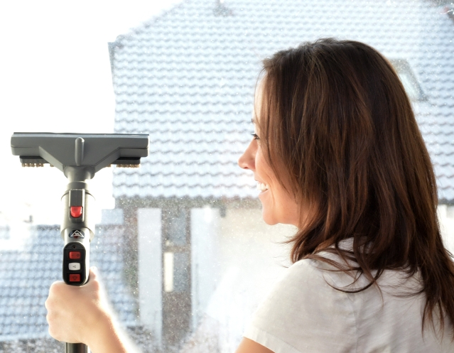 Fenster-reinigen-Dampfsauger